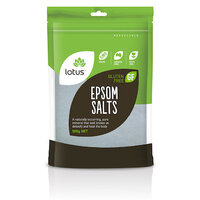 Lotus Bath Epsom Salts 500g