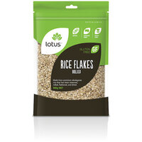 Lotus Rice Flakes Rolled 500g