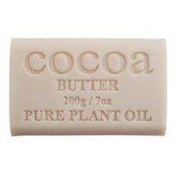 Cocoa Butter - Pure Plant Oil Soap
