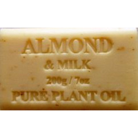 DALBY AREA ONLY Almond - Pure Plant Oil Soap