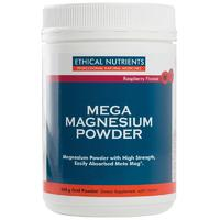 Mega Magnesium Powder Raspberry 450g