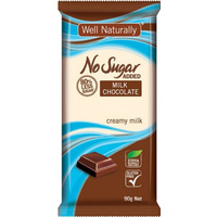NO Sugar added Milk Chocolate Block