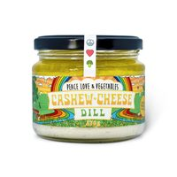 Peace Love & Vegetables Cashew Cheese - Dill