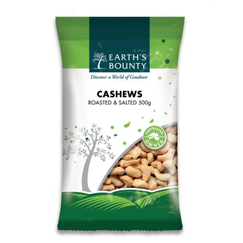 Roasted & Salted Cashews 100g